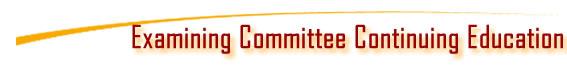 ExamineCommitteeCE